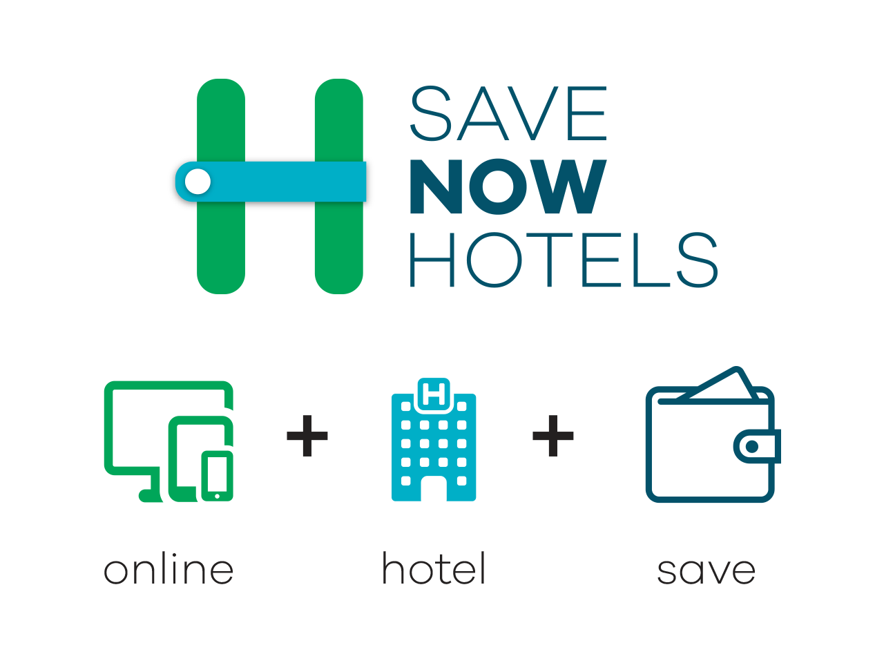 Save Now Hotels logo